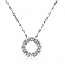 Crystal Halo Pendant Made with Crystals from Swarovski®