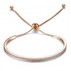 Adjustable Friendship Bracelet Made with Crystals from Swarovski®