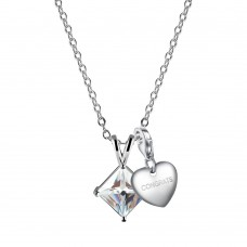 CRYSTAL V DROP INCLUDING CHOICE OF CHARM