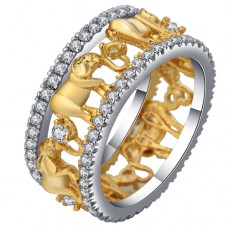 Elephant Crystal Band