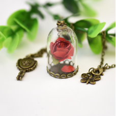 Enchanted Rose Pendant