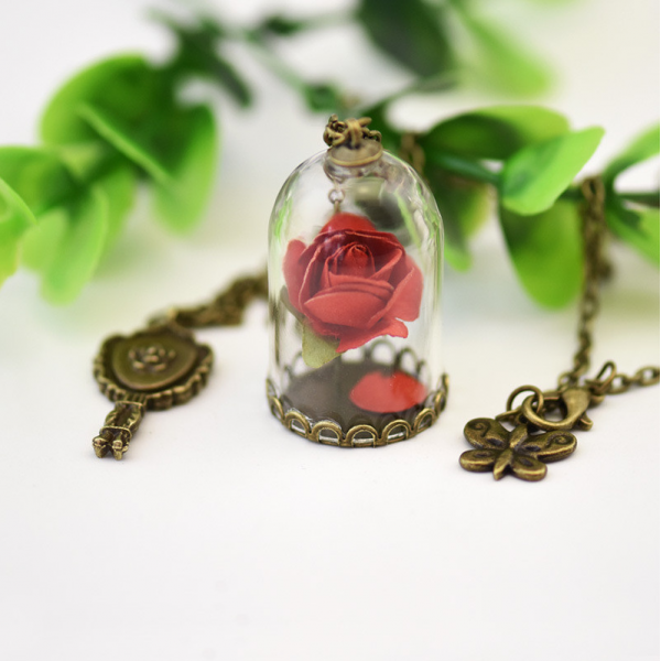 Enchanted Rose Pendant