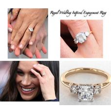 Royal Crystal Inspired Engagement Ring