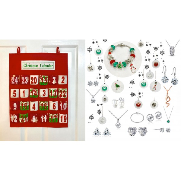 Large Exclusive Jewellery Advent Calendar with Swarovski®
