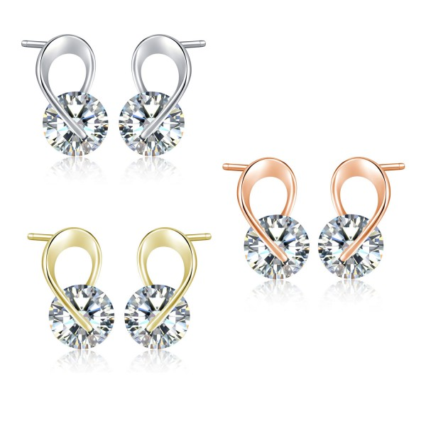 Ribbon Tie Earring Set with crystals from Swarovski®