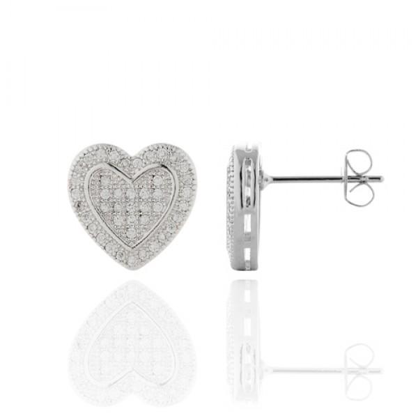 Melee Diamond Earrings
