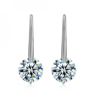 Pendulum Solitaire Earrings
