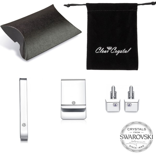 Gents Gift Set made with SWAROVSKI®