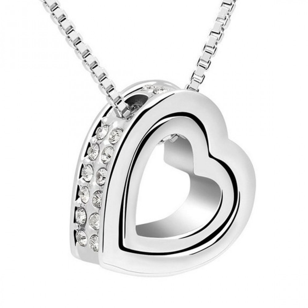 heart the necklace double annex gold products